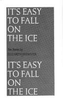 It's easy to fall on the ice