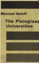 The Plateglass Universities