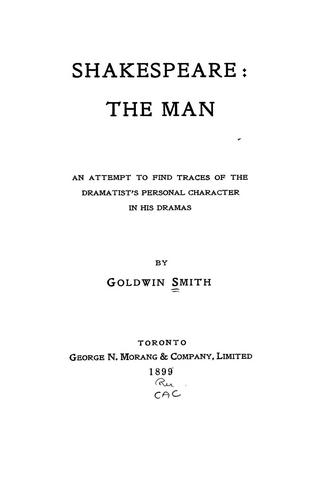 Download Shakespeare: the man