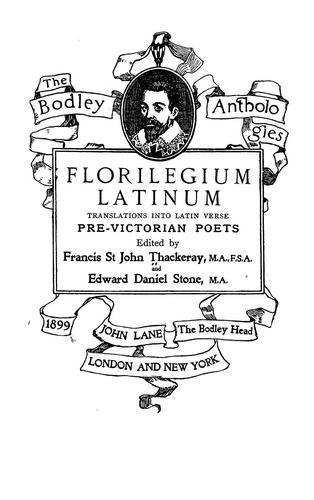 Florilegium latinum