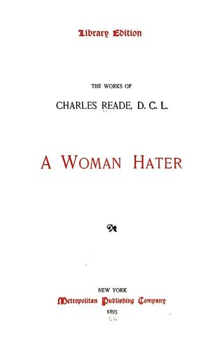 A woman hater