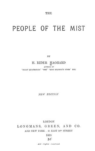 Download The people of the mist.