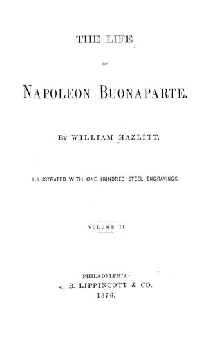 Download The life of Napoleon Buonaparte.