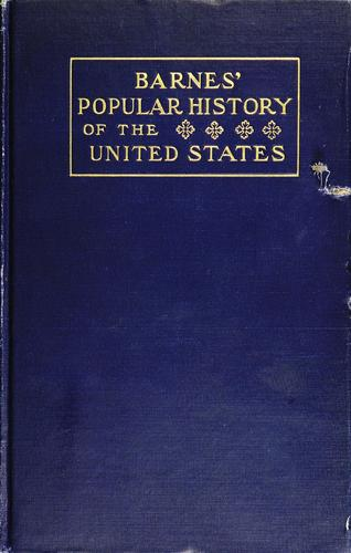 Barnes' popular history of the United States of America
