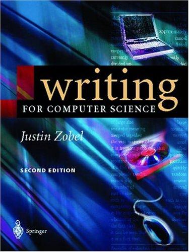 Download Writing for Computer Science