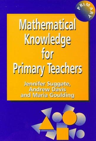 Download Mathematical knowledge for primary teachers