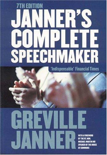 Download Janner's Complete Speechmaker
