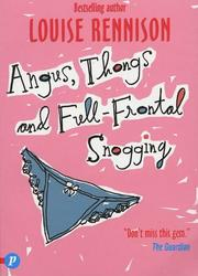 Angus, Thongs and Full Frontal Snogging Cover