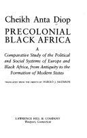 Download Precolonial Black Africa