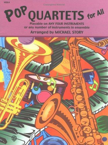 Pop Quartets for All (Pop Instrumental Ensembles for All)
