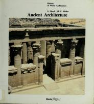 Ancient architecture by Seton Lloyd