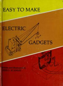 Cover of: Easy to make electric gadgets | Leon R. Stanley