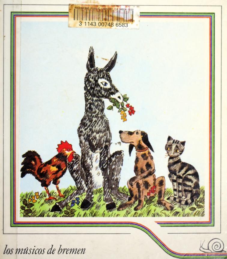 Los musicos de Bremen by Jacob Grimm