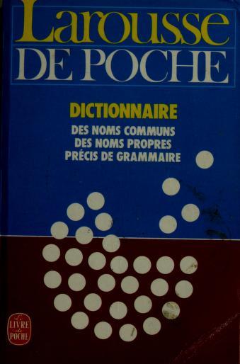 Larousse de poche by Larousse