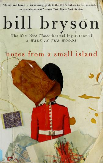Cover of: Notes from a small island | Bill Bryson