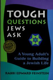 Cover of: Tough questions Jews ask | Edward Feinstein