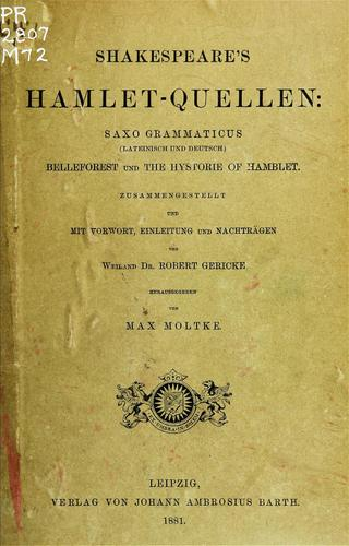 Shakespeare's Hamlet-Quellen by Max Leopold Moltke