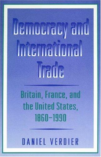 Democracy and international trade by Daniel Verdier