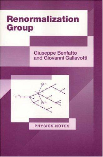 Renormalization group by Giuseppe Benfatto