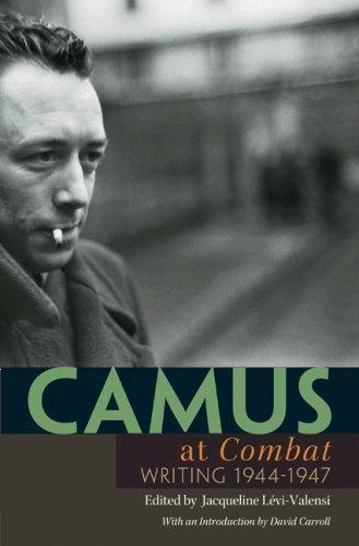 """Camus at """"Combat"""""""
