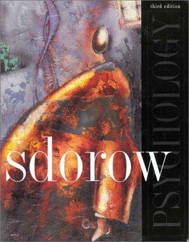 Psychology by Lester Sdorow
