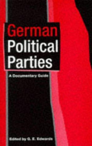 German political parties by G. E. Edwards