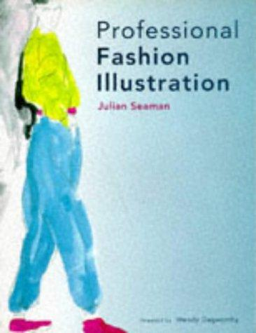 Professional fashion illustration by Julian Seaman