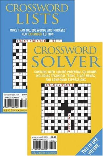 Crossword Lists & Crossword Solver by Anne Stibbs